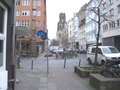 Kürzester Radweg